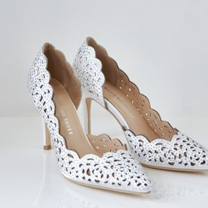 Pantofelek Sophia szampan