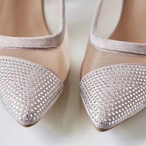 Pantofelek Cinderella róż